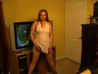 Amateur Chubby Homemade  Stripper Wife