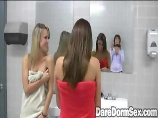 Footage Inside Female Dorm Shower