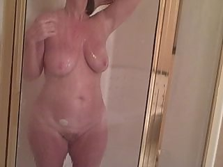 Amateur Chubby Homemade  Showers Wife