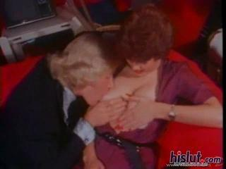 Amazing vintage porn with a hot milf