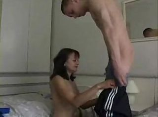 Older Hairy Mature GetDoggystyle Bore CumshotBy..