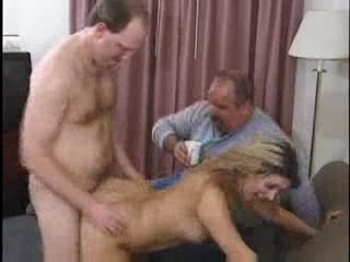 Cuckold Doggystyle  Threesome Wife