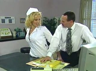 Amazing Blonde  Nurse Uniform Vintage