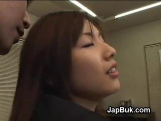 Japanese office slut fuc ...