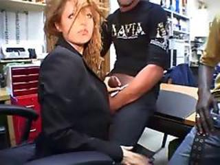 Italian Girl Sucks Two Big Black Cocks