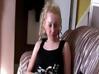 Young Blonde British Hooker Fucking Wee Bald Guy