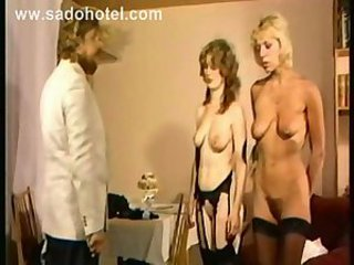 Slave Stockings Threesome Vintage