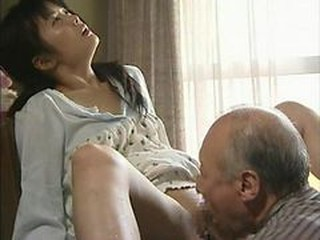 Asian Japanese Licking Older Old and Young
