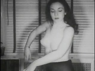 Amateur Stripper Adolescente Vintage