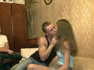 First Time Homemade Kissing Teen Virgin