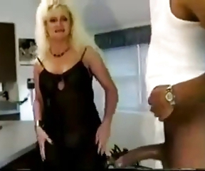 Blonde Cuckold Interracial  Vintage Wife