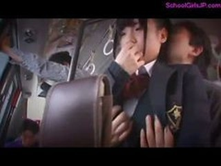Schoolgirl Rapped Forced To Suck Cock On The Bus