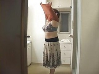 Japanese Mommy Takes Shower With...