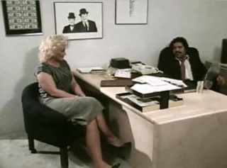 Interracial Mature Office Vintage
