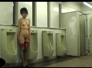 Asian Glasses Public Toilet