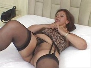 Brazilian Latina Lingerie  Stockings