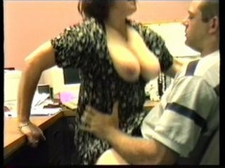 Big Tits HiddenCam  Office