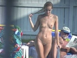 Nudist Pool Teen Voyeur
