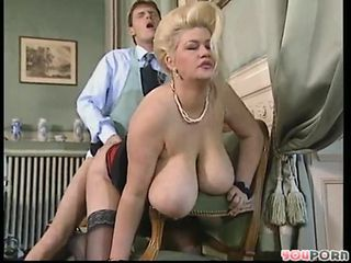 Amazing Big Tits Blonde Doggystyle Hardcore  Natural Old and Young Pornstar Vintage