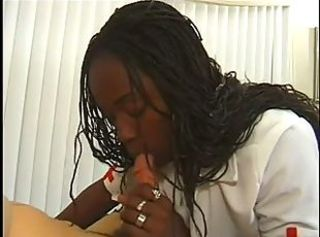 Blowjob Ebony Nurse Teen Uniform
