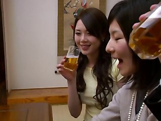 Asian Drunk Sister Teen