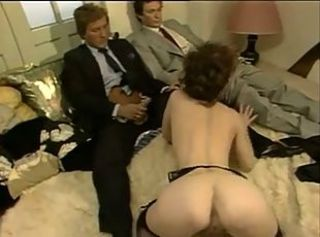 Hairy pussy play and DP