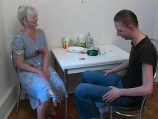 Mother Fucks With Confess Son At The...