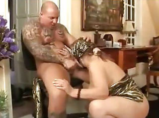 Very old granny gets fucked by punk