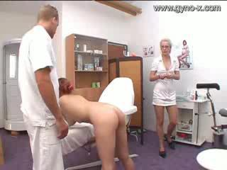 Gyno Exam Of Milky Girl By Docto...