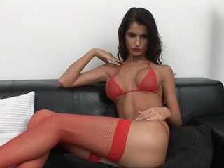 Babe Bikini Cute European Silicone Tits Stockings Teen