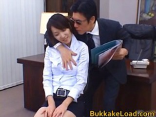 Asian Office Secretary Teen
