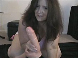 Hot Mature Mom Loves Anal With Big Dildo