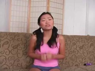 Asian Casting Pigtail Teen