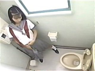 Asian HiddenCam Japanese Teen Toilet
