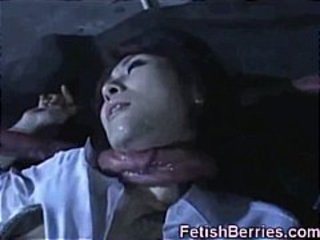 Asian Cum Unperceived by Tentacles!