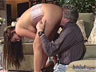 Hot MILF babe Venus takes on Pussyman for a wild ride on his sofa