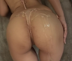 Asian Ass Bikini Japanese Oiled Pornstar
