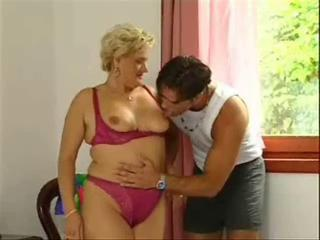 Lotta Noletty with young guy Sex Tubes