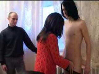 Mature Mom Old and Young Amateur Threesome