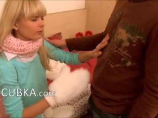 luxury russian winter blowjob
