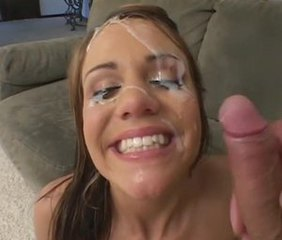Cumshot Cute Facial Teen