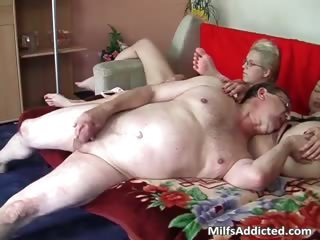 Two horny sluts enjoy in pussy eating