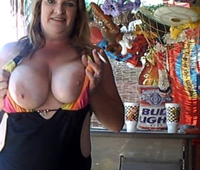 Amateur Big Tits Chubby  Natural Public