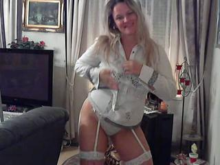 European German Lingerie  Stripper Webcam