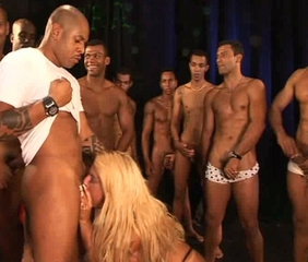Blonde Blowjob Brazilian Gangbang Interracial Latina