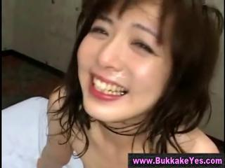 Asian Bukkake Hardcore Swallow Teen