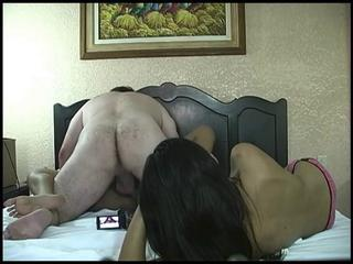 Amateur Asian Interracial Teen Threesome