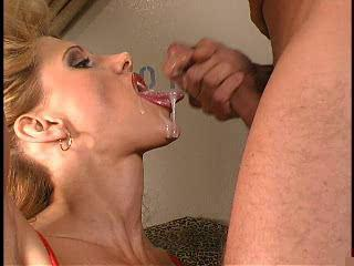 Blonde Cumshot  Swallow