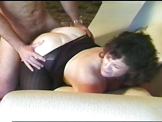 Joufflue Levrette Hardcore Mature Collants