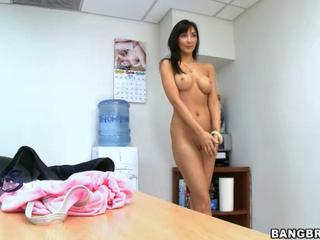Diana Prince visits BangBros offices